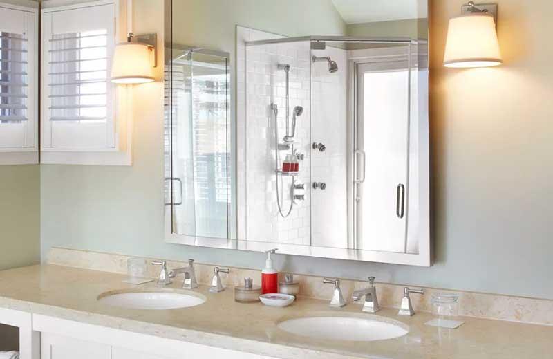 浴室の更衣室の乾燥でカビを防ぐ